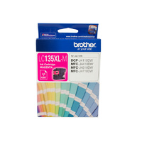 Brother LC135XLM Magenta Ink Cartridge