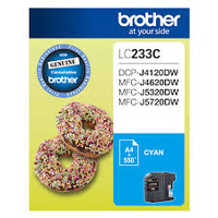 Brother LC233C CYAN Ink Cartridge