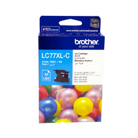 Brother LC77XLC CYAN Ink Cartridge
