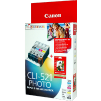 Canon 521VP Ink Tank Value Pack - CLI521VP