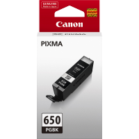 Canon 650 Black Ink Cartridge - PGI650BK