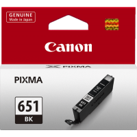 Canon 651 Black Ink Cartridge - CLI-651BK