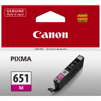 Canon 651 Magenta Ink Cartridge- CLI-651M