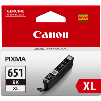 Canon 651XL Black Ink Cartridge - CLI-651XLBK