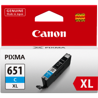 Canon 651XL Cyan Ink Cartridge - CLI-651XLC