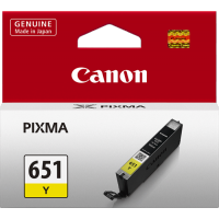 Canon 651 Yellow Ink Cartridge - CLI-651Y