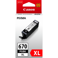 Canon 670XL Black Ink Cartridge - PGI670XLBK