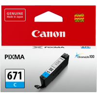 Canon 671 Cyan Ink Cartridge - CLI-671C