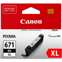 Canon 671XL Black Ink Cartridge - CLI-671XLBK