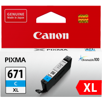 Canon 671XL Cyan Ink Cartridge - CLI-671XLC
