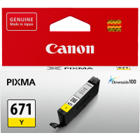 Canon 671 Yellow Ink Cartridge- CLI-671Y