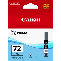 Canon 72 Photo Cyan Ink Tank - PGI72PC