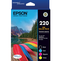 Epson 220VP Ink Cartridge Value Pack