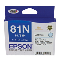 Epson 81N Light Cyan Ink Cartridge
