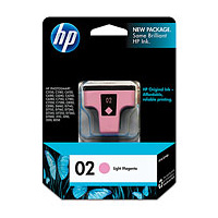 HP 02 Light Magenta Ink Cartridge - C8775WA