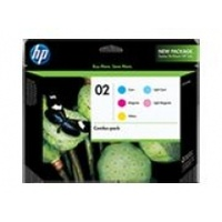 HP 02VP Ink Cartridges Value Pack - CG849AA