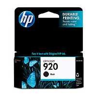 HP 920 Black Ink Cartridge - CD971AA