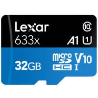 Lexar High-Performance 32GB 633x microSDHC UHS-I