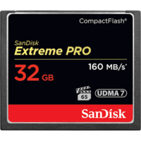 SanDisk Extreme PRO 32GB Compact Flash - 160MB/s