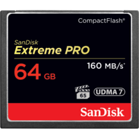 SanDisk Extreme PRO 64GB Compact Flash - 160MB/s