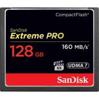 SanDisk Extreme PRO 128GB Compact Flash - 160MB/s