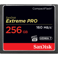SanDisk Extreme PRO 256GB Compact Flash - 160MB/s