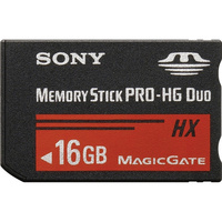 Sony Memory Stick PRO-HG Duo - 16GB
