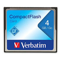 Verbatim CompactFlash Card 4GB - 95188