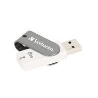 Verbatim 8GB Swivel USB Drive - 65002