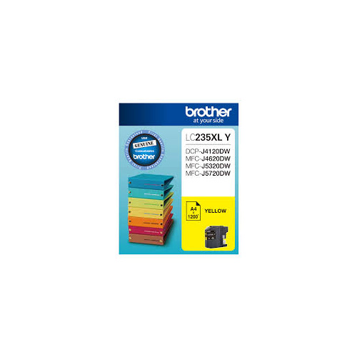 Brother LC235XLY YELLOW Ink Cartridge
