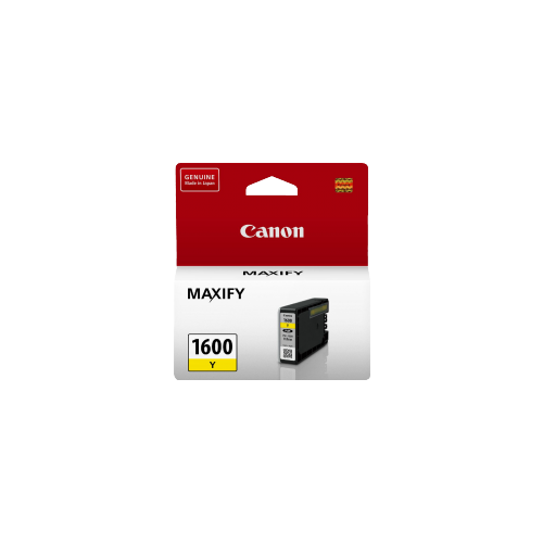 Canon 1600 Yellow Ink Cartridge - PGI1600Y