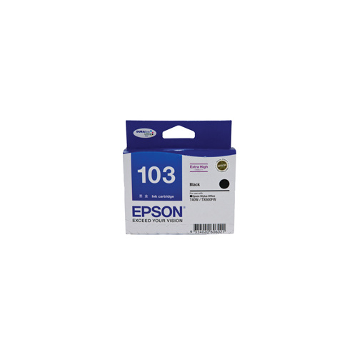 Epson 103 Black Ink Cartridge HIGH YIELD