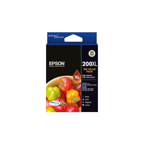 Epson 200XLVP Ink Cartridge VALUE PACK