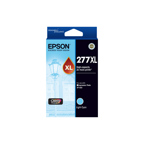 Epson 277XL Light Cyan Ink Cartridge