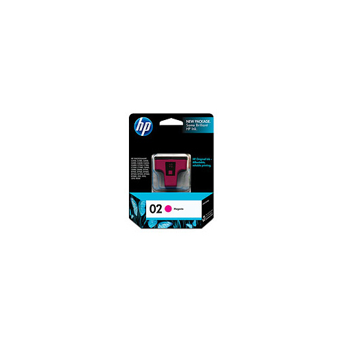 HP 02 Magenta Ink Cartridge - C8772WA