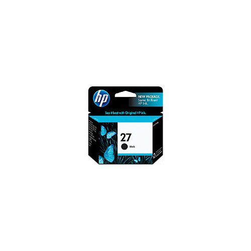 HP 27 Black Inkjet Print Cartridge - C8727A