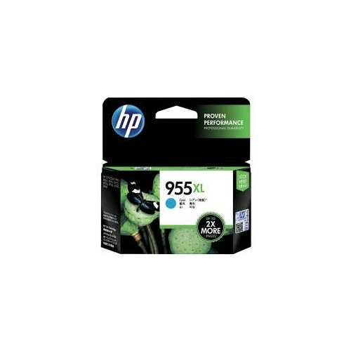 HP 955XL Cyan Ink Cartridge - L0S63AA