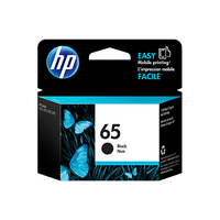 HP 65 Black Ink Cartridge - N9K02AA