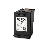 HP 804 Black Ink Cartridge - T6N10AA