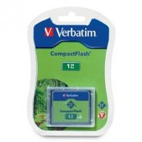 Verbatim CompactFlash Card 1GB - 47010