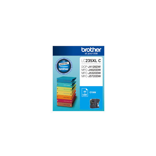 Brother LC235XLC CYAN Ink Cartridge