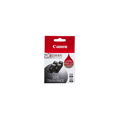 Canon 525 Black Ink Tank - Twin Pack