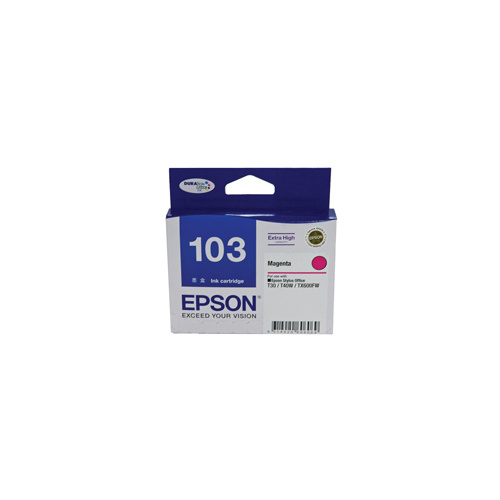 Epson 103 Magenta Ink Cartridge HIGH YIELD